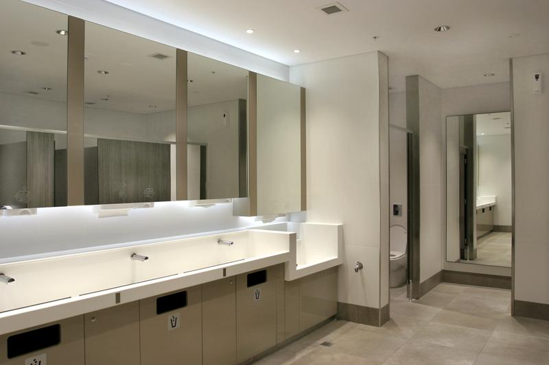 Commercial Bathroom Renovation - Perth