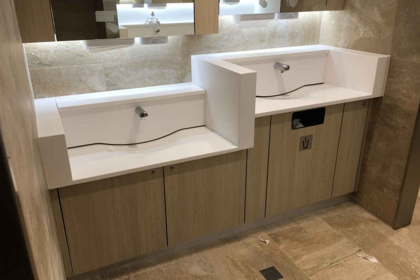 Mudge Plumbing Bathroom Renovation Wash Basins - Kalamunda Shopping Center