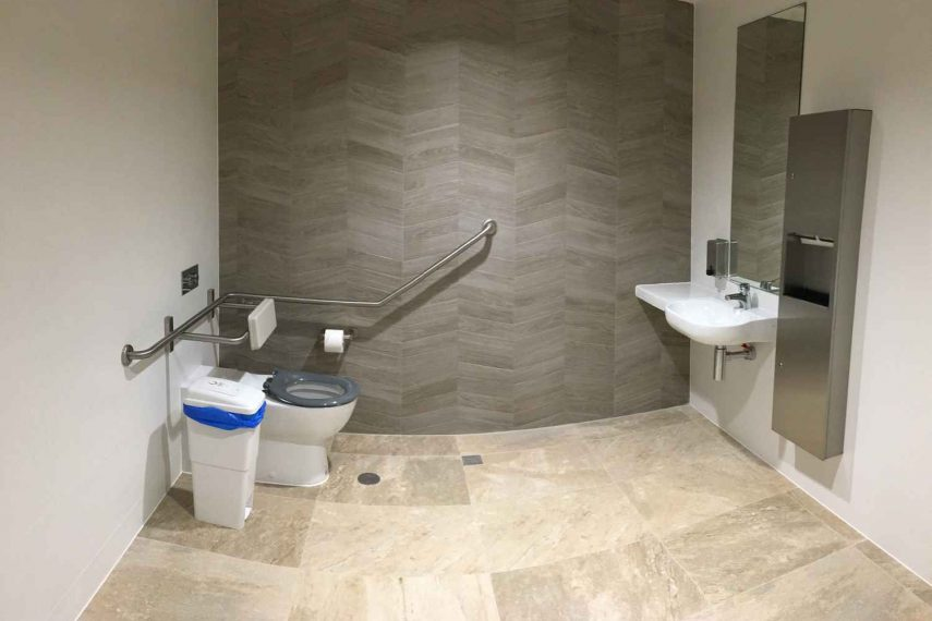 Mudge Plumbing Disabled Toilet Refurbishment - Kalamunda Shopping Center